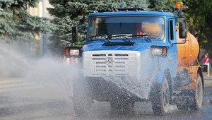 Арендовать поливомоечную машину в Екатеринбурге