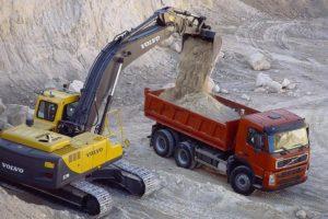 Карьер по добыче инертных материалов
